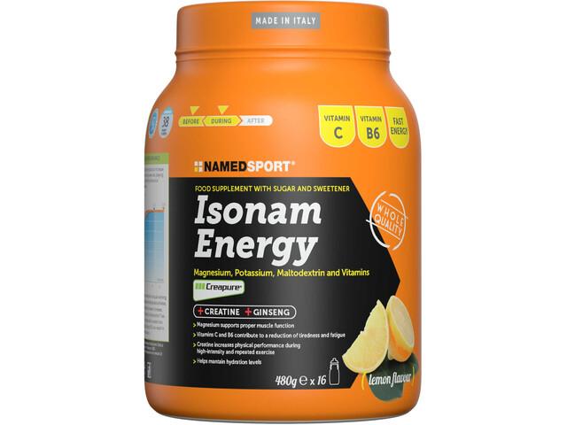 NAMEDSPORT Isonam Boisson énergétique 480g, Lemon